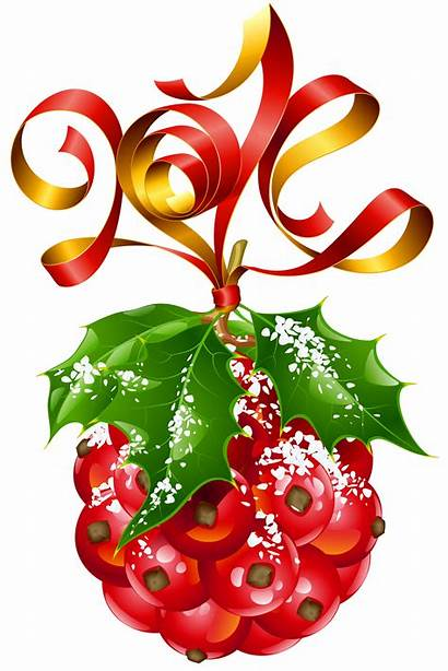 Mistletoe Ornament Clipart Transparent Yopriceville Holiday Frame