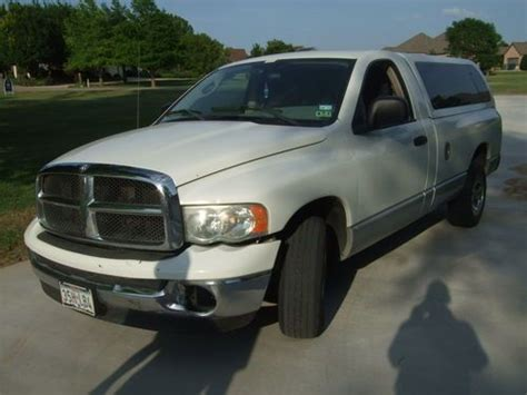 sell   dodge ram  slt standard cab pickup