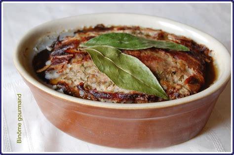 cuisine cagne terrine de pate de cagne maison 28 images p 226 t 233