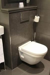 Meuble Mural Salle De Bain : le meuble wc ~ Teatrodelosmanantiales.com Idées de Décoration