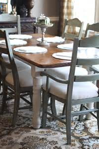 Dining Room Table Round Expandable by Crafty Southern Mama Quot New Quot Kitchen Chairs Annie Sloan