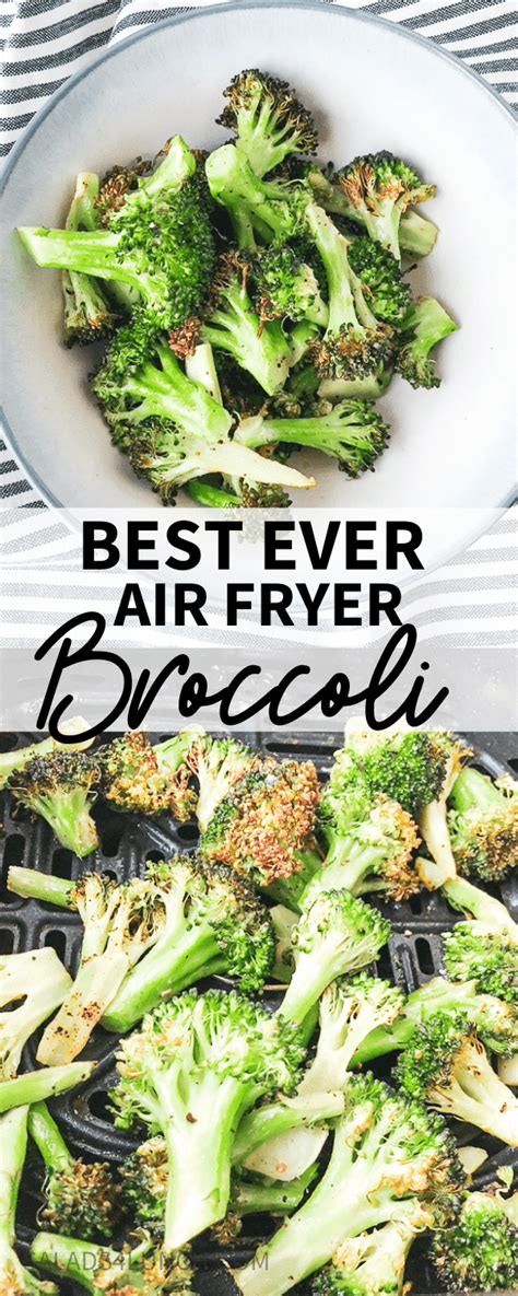 broccoli fryer air easy recipes salads4lunch recipe healthy ever side dish did snack