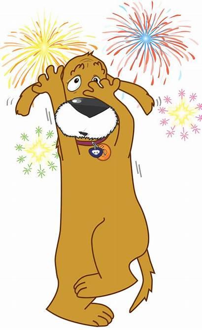 Clipart Dog Firework Fireworks November Pet Firecracker
