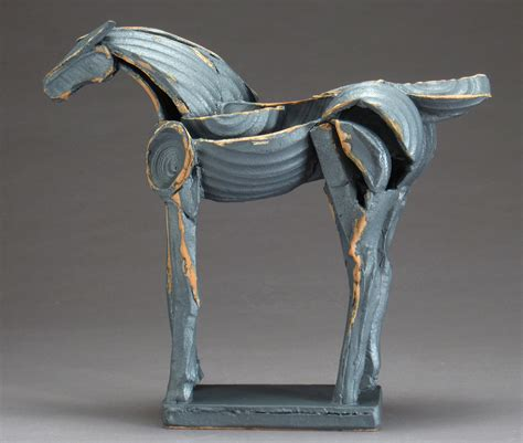 Iron Horse, Tribute Series By Jeri Hollister (ceramic