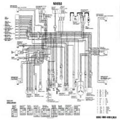 diagrama honda nx