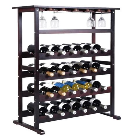 meuble cuisine range bouteille étagère à vin range bouteille casier à vin porte bouteille 24 bouteilles support achat vente