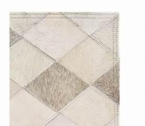 Tapis Cuir Patchwork : acheter vidaxl tapis cuir v ritable patchwork 80 x 150 cm ~ Teatrodelosmanantiales.com Idées de Décoration