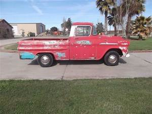 Purchase Used 1958 Chevy Apache Fleetside 3100 Shortbed