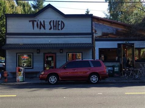 the tin shed picture of tin shed cafe portland