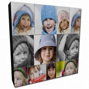 Tableau Pele Mele Photo : tableau toile carr personnalis avec votre photo ~ Teatrodelosmanantiales.com Idées de Décoration