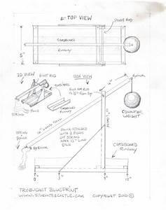 Trebuchet Blueprints Build Plans Diy Free Download Wendy