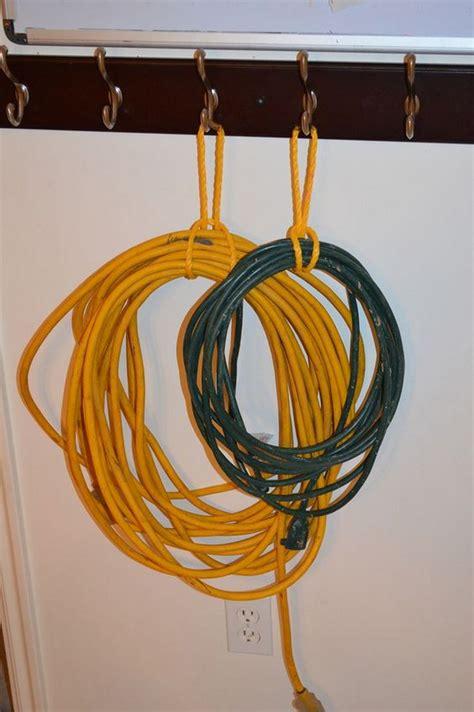 diy folding extension cord organizer diy projects