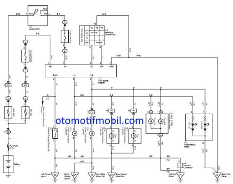 wiring diagram kelistrikan mobil suzuki images diagram