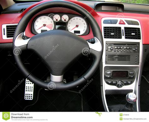 Autoinnenraum Stockbild Bild Von Automobil, Fahrzeug