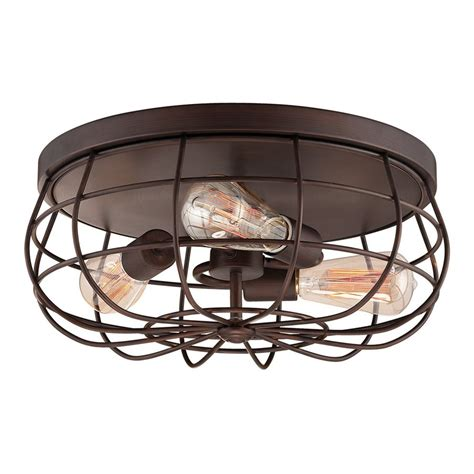 shop millennium lighting neo industrial 15 5 in w rubbed