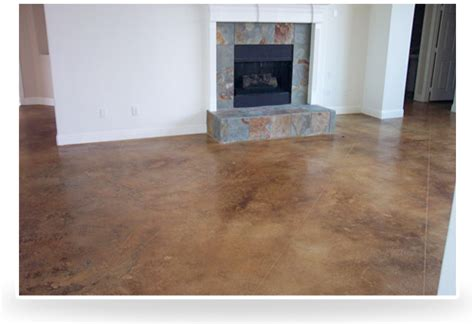 Sealed Concrete Floor by Hastings Stained Concrete