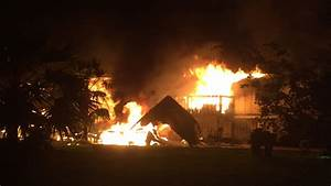 6 Safely Escape House Fire In Big Pine Key