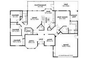 mediterranean house floor plans mediterranean house plans bryant 11 024 associated designs
