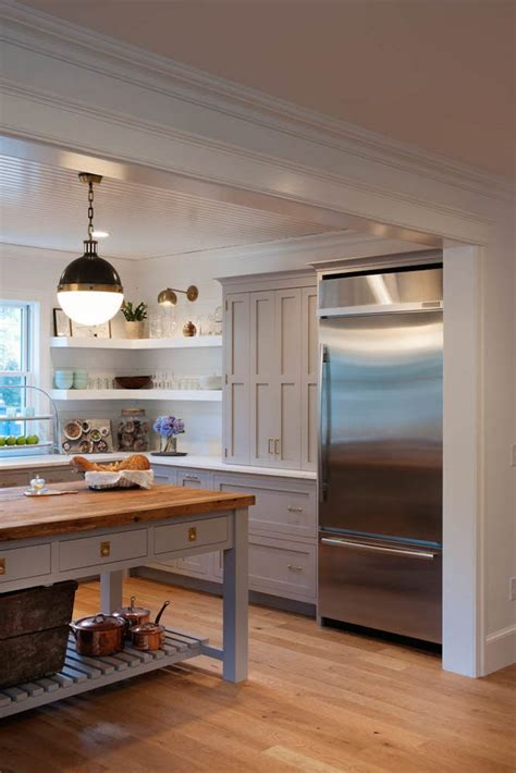 Painted Gray Kitchen   Becki Owens