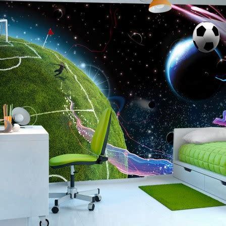 Tapisserie Football by Deco Murale Foot Decoration Chambre Enfant Sur Le Th 232 Me
