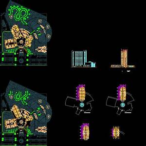 5 Stars Hotel 2D DWG Design Plan for AutoCAD • Designs CAD