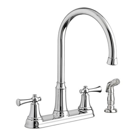 standard kitchen faucet standard portsmouth 2 handle standard kitchen