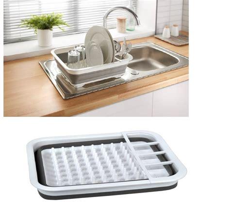 collapsible dish rack collapsible folding dish drainer cing caravan boat dish