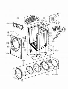 Cabinet  U0026 Door Diagram  U0026 Parts List For Model Dlg5966w Lg