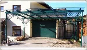 terrassen berdachung und carport in wien aus metall With terrassenüberdachung schmiedeeisen