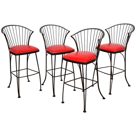 vintage woodard bar stools for sale at 1stdibs