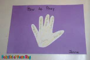 Sunday School Crafts Prayer