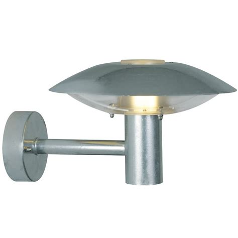 nordlux discos outdoor 30 wall light galvanised