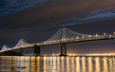 bay bridge lights bay bridge lights it up save the bay
