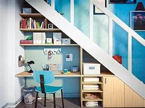 Bureau Sous Escalier : prix d 39 am nagement du dessous d 39 escalier pose et ~ Farleysfitness.com Idées de Décoration