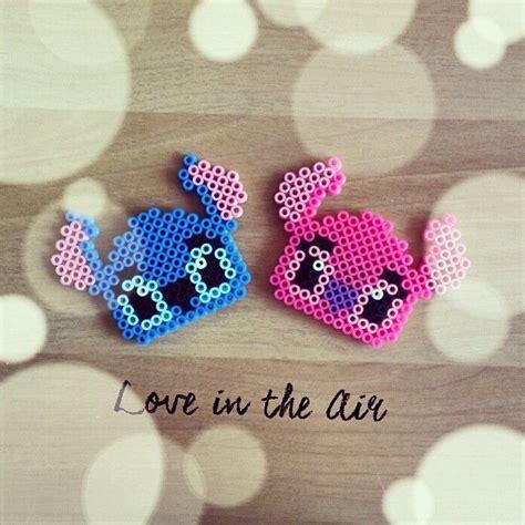 Lilo & Stitch hama perler beads by uniqo8pg Perler bead