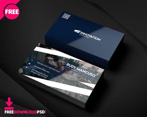 designer business card psd template freedownloadpsdcom