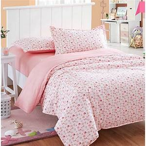 pink floral cute high quality teen bedding sets twin With cute twin bedspreads