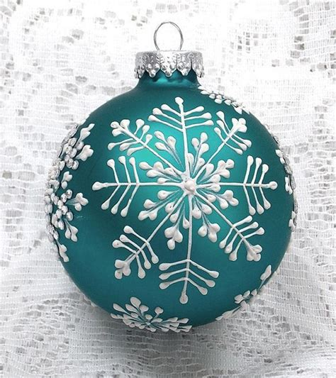 painted ornaments ideas  pinterest painted
