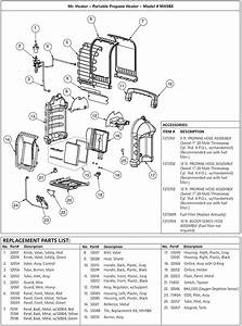 Mr Heater Mh9bx Parts With Parts List