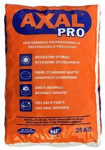 Sel Adoucisseur Axal : sel axal pro ~ Nature-et-papiers.com Idées de Décoration
