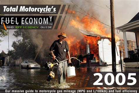 2005 Motorcycle Model Fuel Economy Guide In Mpg And L