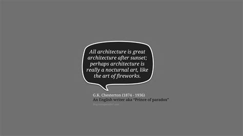 20 Amazing Quote About Architecture And Design All Is
