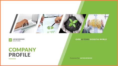 sample company profile design company letterhead