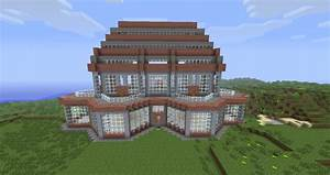 Artsy Brick Mansion Minecraft Project