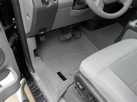 weathertech floor mats 2005 f150 weathertech front auto floor mats gray weathertech floor