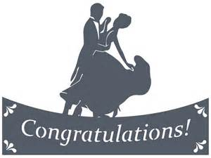 congrats engagement card congratulations silhouette design store