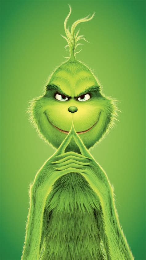 Grinch Wallpaper Iphone by The Grinch 2018 Phone Wallpaper In 2019 Grinch
