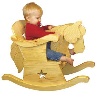 wooden rocking horse pattern plan infant rocking horse
