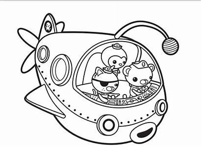 Octonauts Gup Dvd Order Coloring Pages Disney