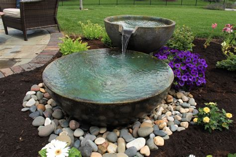 Aquascape Water Features by Aquascape Designs Inc Aquascape Spillway Bowls In Water